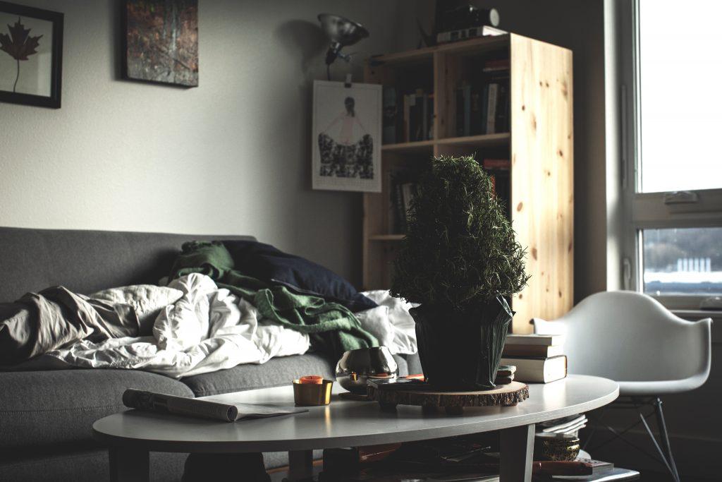 troep, chaos, interieur, opruimen