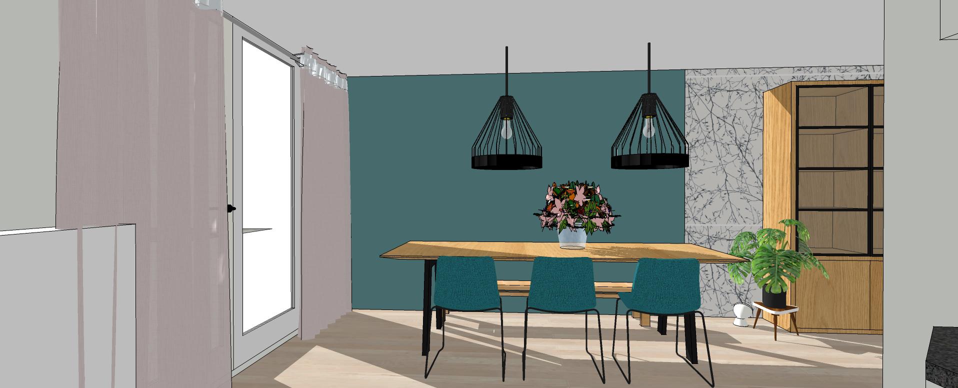 Willemijn, Interieurontwerp, interieur, interieurdesign Groningen, eetkamer