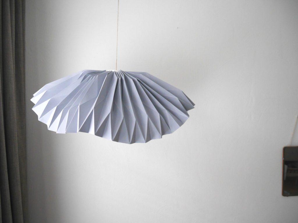 lamp, origami, vouwen, vouwkunst, diy, zelfmaken, workshop, online workshop, wonen&co