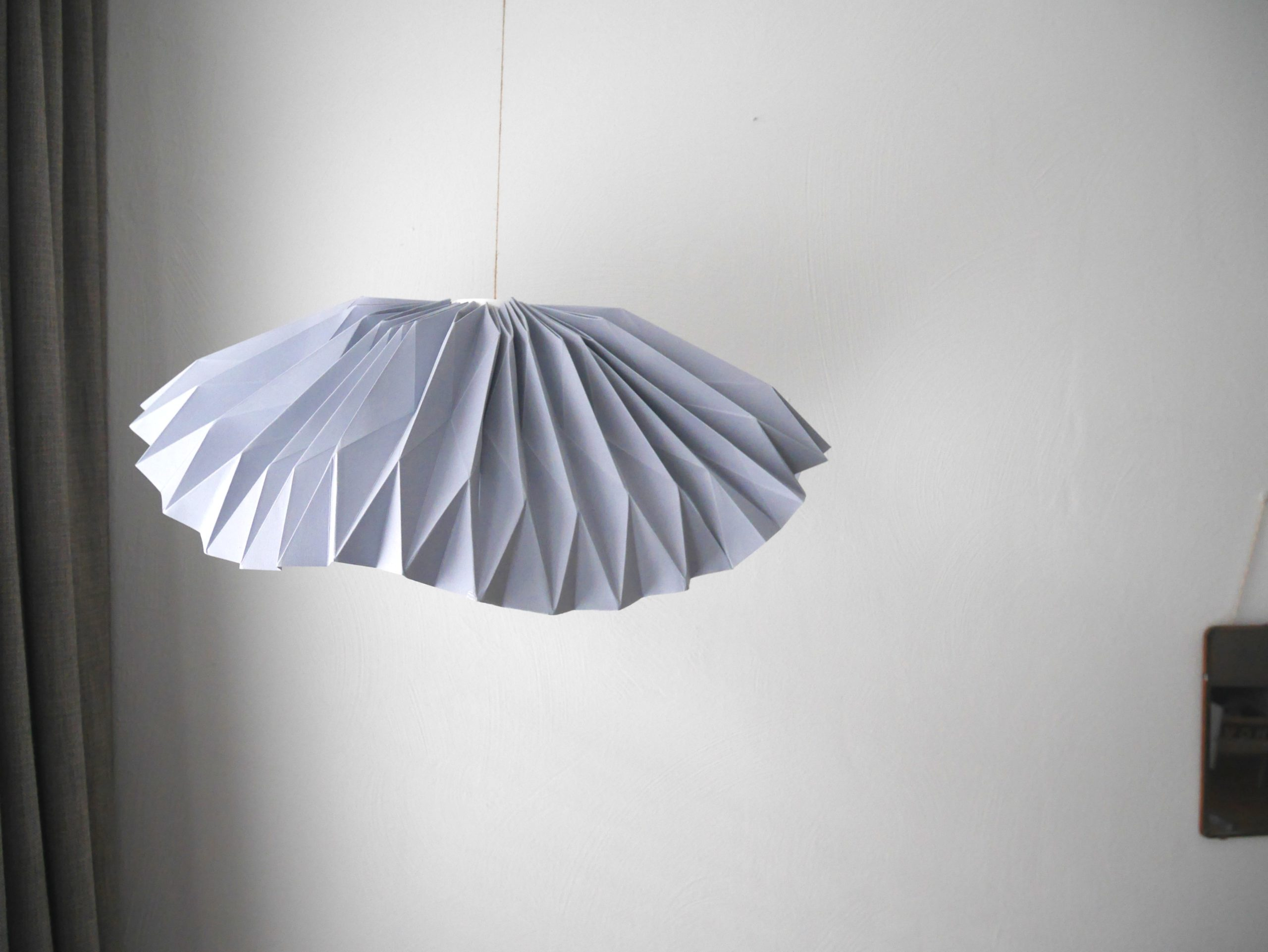 lamp, origami, vouwen, vouwkunst, diy, zelfmaken, workshop, online workshop, wonen&co