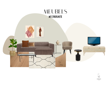 shopping, interieur, interieurstyling, meubels, meubeloverzicht, interieur advies, Groningen, basic, chique, naturel, By Sidde, collage