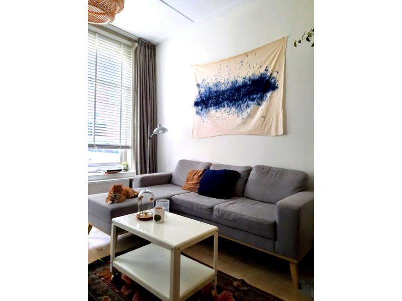 DIY – Maak een (goedkoop) statement aan je muur met dit wandkleed