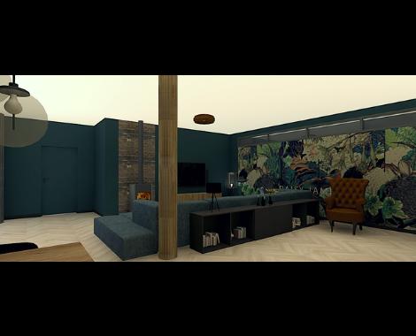 Moodboard, donker, blauw, antraciet, zwart, interieur, interieurinspiratie, binnenhuis, interieurontwerp, interieuradvies, groningen, donker hout, metallic, visgraat, warm, staal, stalen deuren, ditisdil