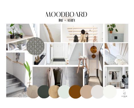 moodboard, duurzaam interieuradvies, Groningen, Haren, stijl, sfeer, woonkamer