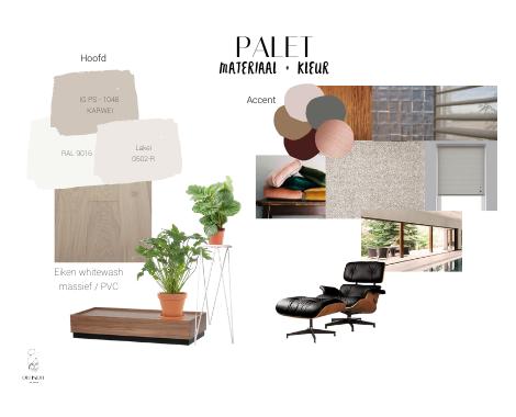 portfolio, interieuradvies, interieur, interieuradvies Groningen, materialen, kleuren, licht, woonkamer, styling
