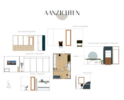 2D aanzichten, basispakket, interieurstyling, zolder, multifunctioneel, indeling ruimte, warm, rust, blauw, natuurlijk interieur, DITISDIL