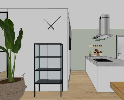 Interieurontwerp, interieur, interieurdesign Groningen, keuken, Zuidhorn